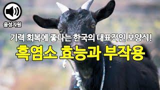 한국의 대표 보양식! 흑염소 효능과 부작용