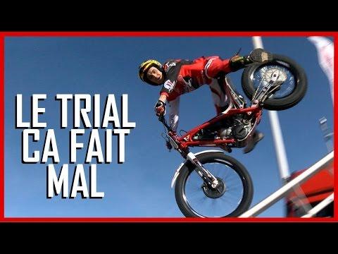 Le trial moto : En fait c'est super violent !! (English Subtitles)