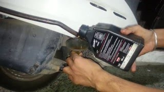 How to change Engine oil on 2012 Honda Activa 110 CC