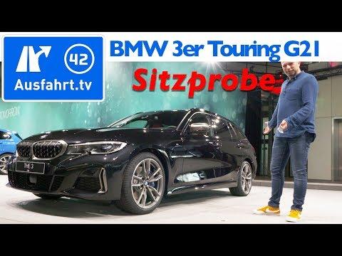 2019 BMW 3er touring (G21) M340i xDrive - Weltpremiere, Sitzprobe, kein Test