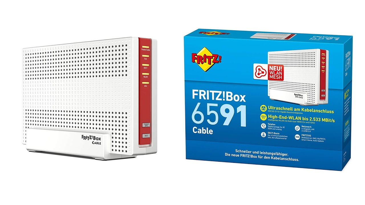 FritzBox 20 Unboxing + Erster Eindruck