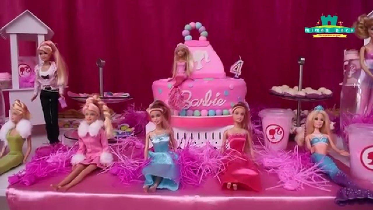 Cumplea os de emiliana fiesta de barbie youtube - Decoracion fiesta cumpleanos ...