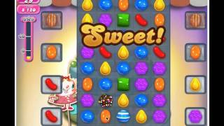 Candy Crush Level 207 - 2 Stars No Boosters