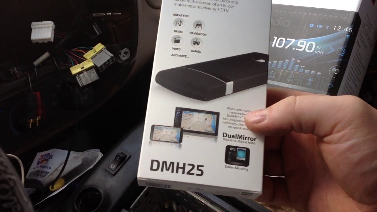 maxresdefault installing new dual flip out radio in my truck youtube xdvd156bt wiring diagram at n-0.co