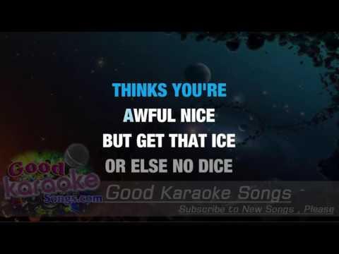 Diamonds Are a Girl's Best Friend - Ethel Merman ( Karaoke Lyrics )