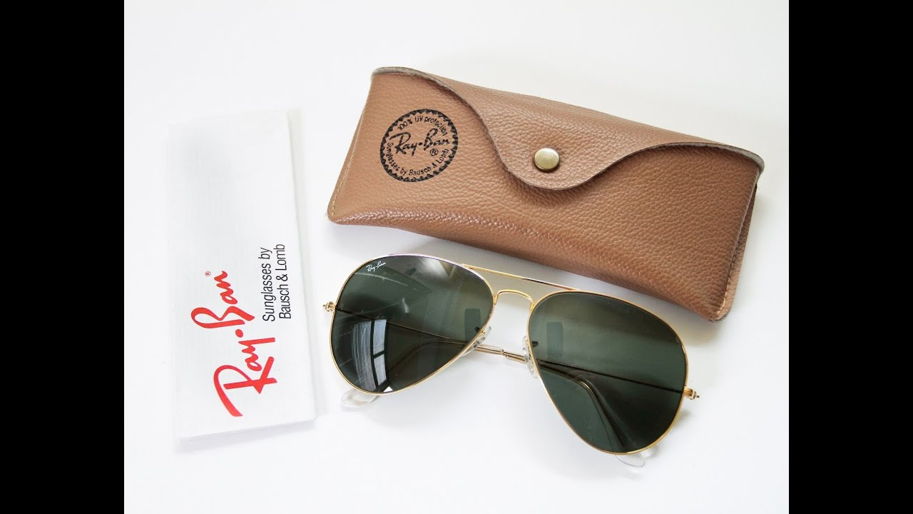 ray ban aviators mens  Ray Ban Aviator Sunglasses for Men - Quick Review - YouTube