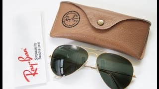 Ray Ban Aviator Sunglasses  for Men - Quick Review