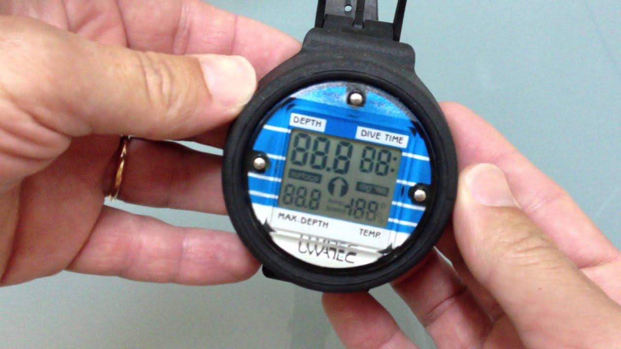 Profundimetro Uwatec Digital Depth Gauge Youtube