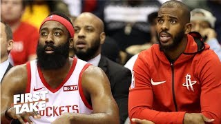 Melo wasn't the Rockets' problem - Stephen A. l First Take