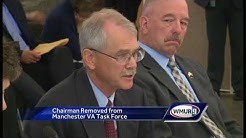 Chairman removed from Manchester VA task force