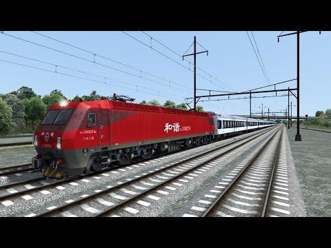 Train Simulator 2016 HD: China Railways HXD3D Operating Tutorial & Physics Tweak Demo (Mod Release)