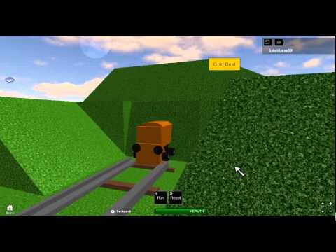 My go in Roblox - Magic Railroad game - YouTube