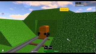 My go in Roblox - Magic Railroad game