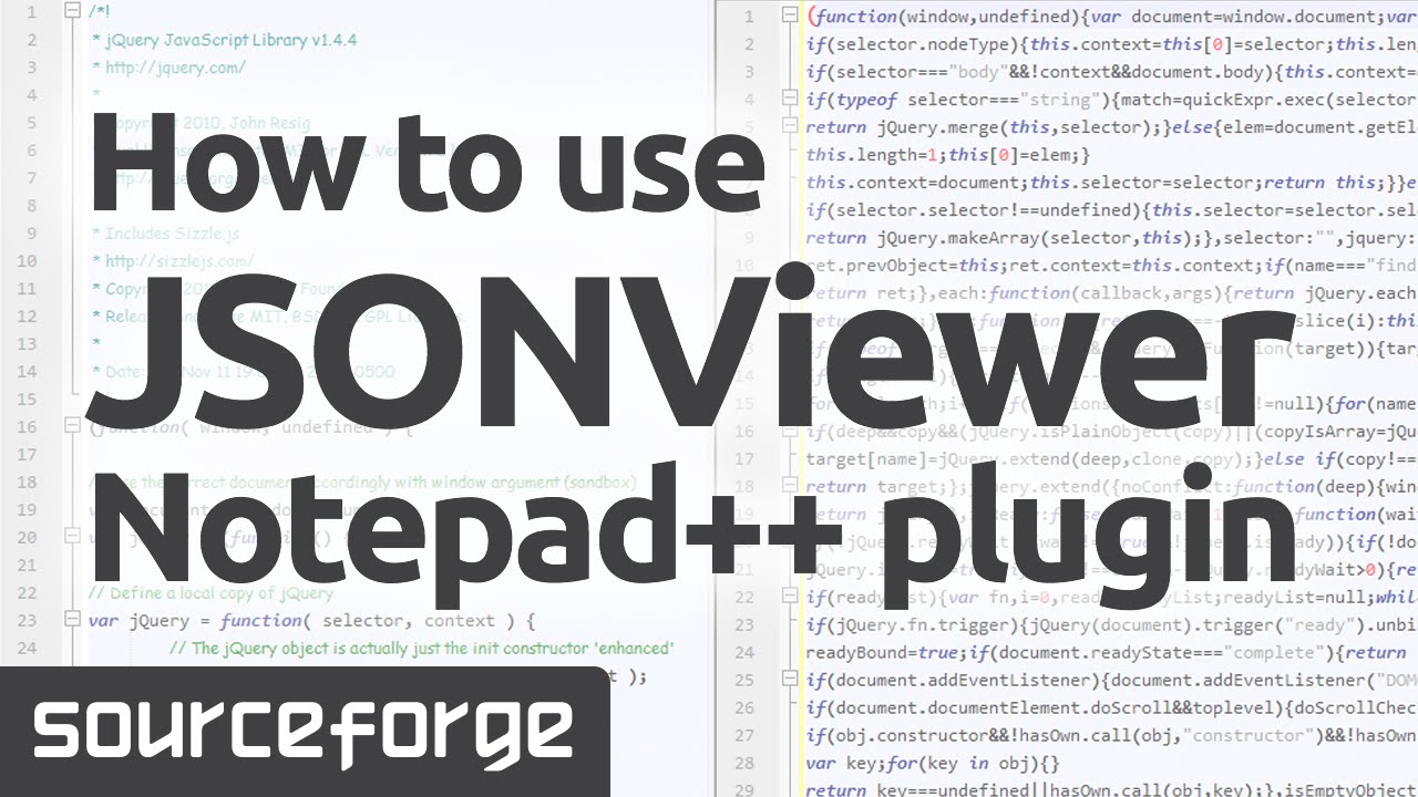 How to Use JSONViewer Notepad++ plugin