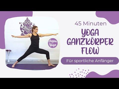 Yoga Ganzkörper-Flow 45 Minuten