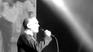 Morrissey CERTAIN PEOPLE I KNOW live@013 29-3-2015