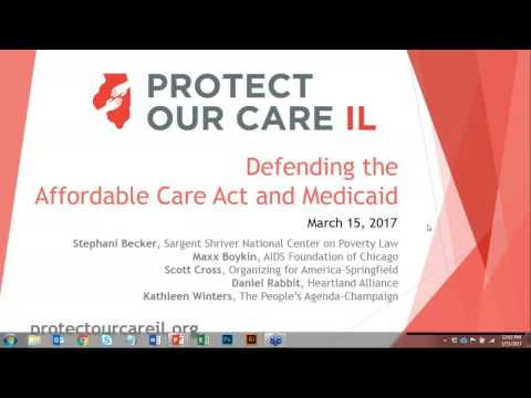 Webinar: Defending the Affordable Care Act and Medicaid