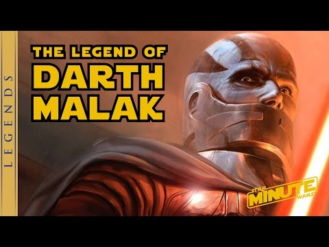 The Legend of Darth Malak - Star Wars Explained