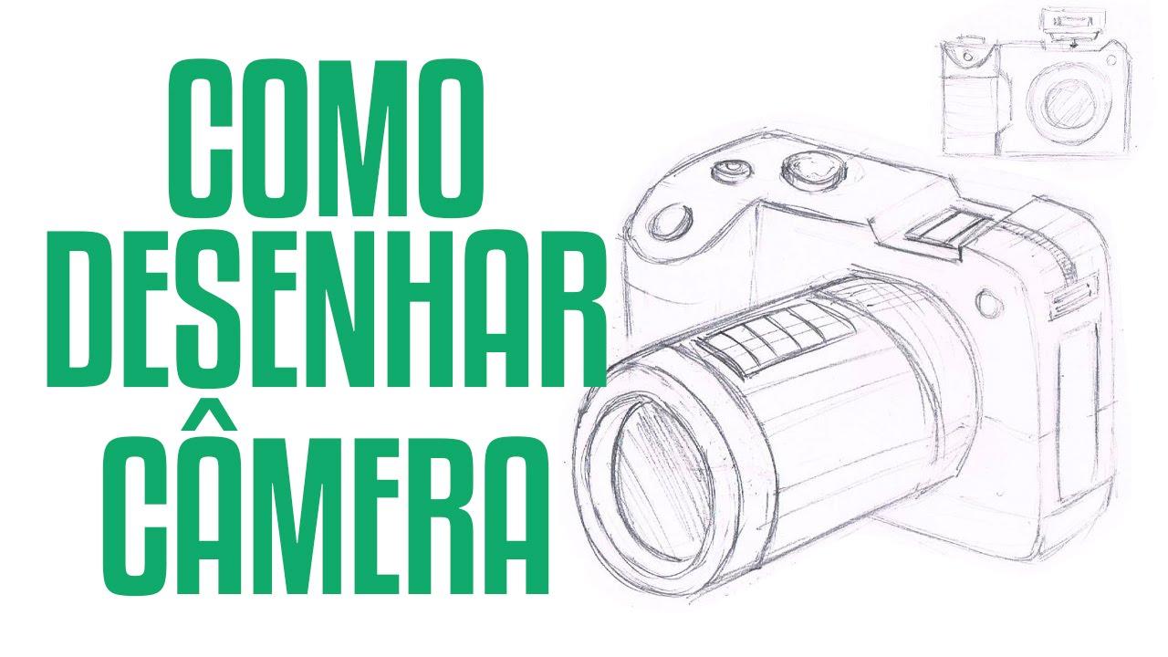 Preferência COMO DESENHAR CÂMERA - YouTube MY57
