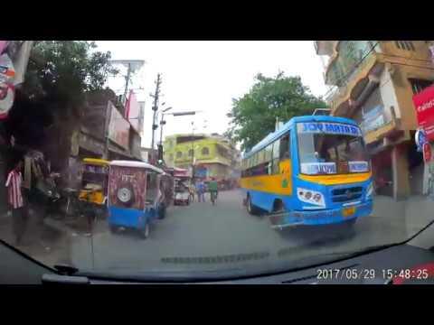 Ichapore (Kanthadhar) To Kankinara via Ghosh Para Road (SH-1) - Dash Cam Video