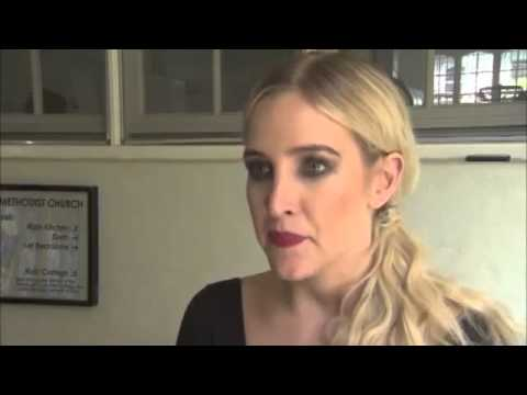 2013 Chicago Ashlee Simpson Interview - YouTube