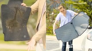 TRAPMATS | The world's first EASY-CLEAN dual car mats