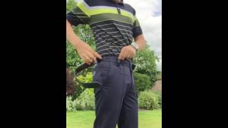 IJP Design - Why Ian Poulter loves wearing our Tech Trousers