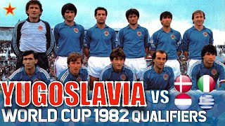 Yugoslavia World Cup 1982 All Qualification Matches Highlights Road to Spain