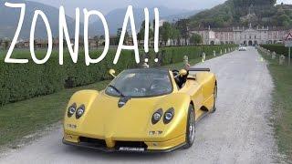 I DRIVE A PAGANI ZONDA!!