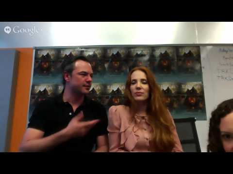 EPICA - Live Fan Q&A Interview with Simone Simons and Isaac Delahaye