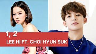 Lee hi - 1, 2 (한두번) ft. choi hyun suk of treasure (easy lyrics)