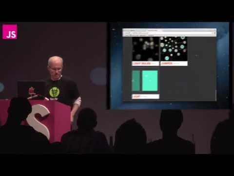 Vince Allen: Creating natural simulations in a web browser -- JSConf EU 2013
