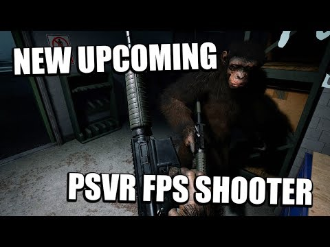 PSVR - New Upcoming Crisis On The Planet Of The Apes PSVR! ( Crisis On The Planet Of The Apes VR )