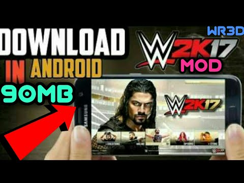 90 MB]How To WWE 2K17 Mod (COMMENTERY,3D AUDIENCE)WR3D