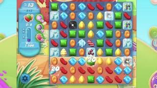 Candy Crush Soda Saga Level 843  No Booster