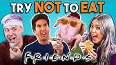 Try Not To Eat Challenge - F.R.I.E.N.D.S FoodPeople Vs. Food