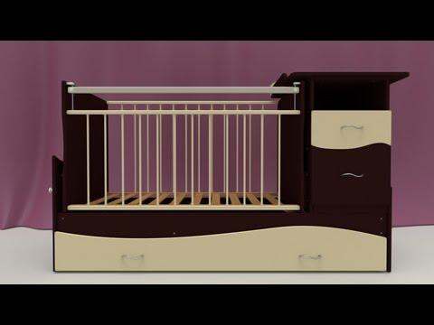 сборка кроватки чунга чанга