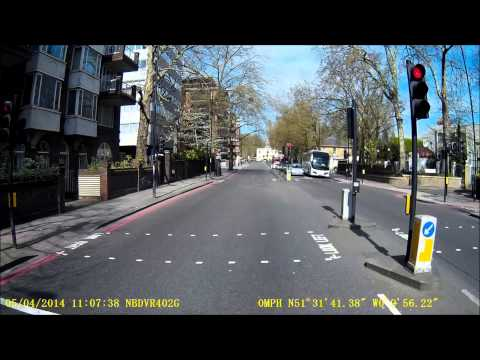 HGV Dash Camera - Time-lapse/Driving in London HD