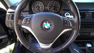 homepage tile video photo for X1 M Sport Steering Wheel Trim and M Performance Shift Knob  In The E90