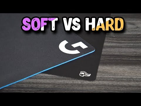 Soft Mouse Pad VS Hard Mouse Pad! What's Better??
