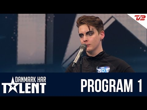 Sigmund Trond  Danmark har talent  Program 1