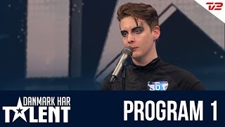 Sigmund Trond - Danmark har talent - Program 1