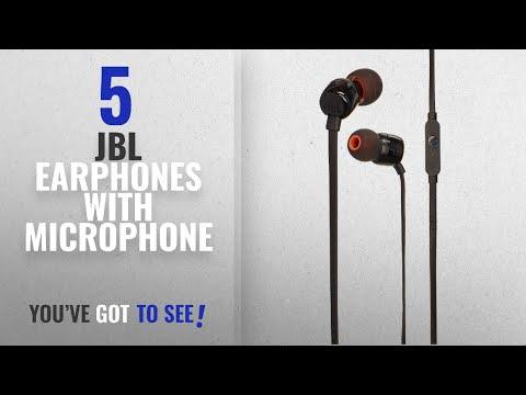 Top 5 JBL Earphones With Microphone [2018]: JBL T110 In Ear Headphones Black