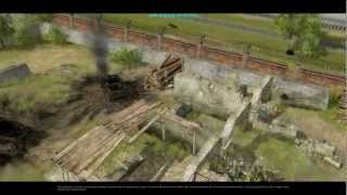 Faces of War - German campaign walkthrough - Mission 1 - Basic Training 2/2 [HD]