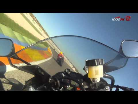 Yamaha YZF-R1 2012 Traction Control - Test