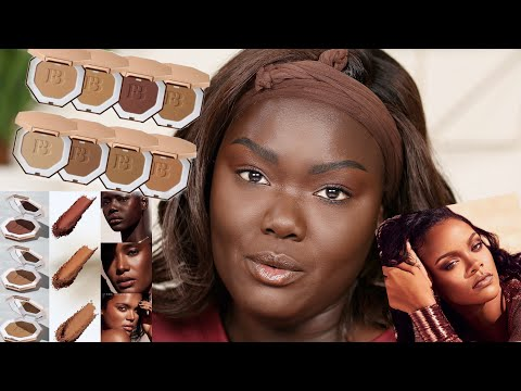 I Tried The New Fenty Beauty Bronzers || Nyma Tang