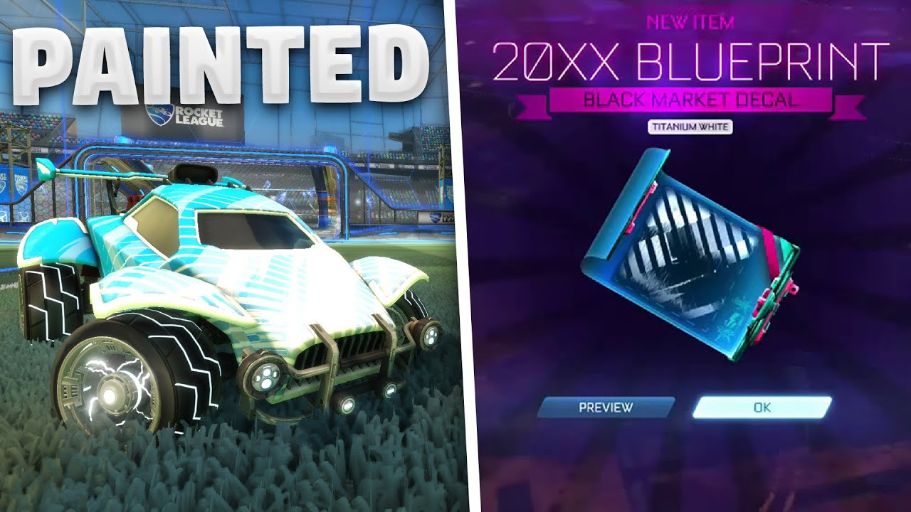 Updated Painted Mystery Decals 20xx And Trigon Showcase Youtube