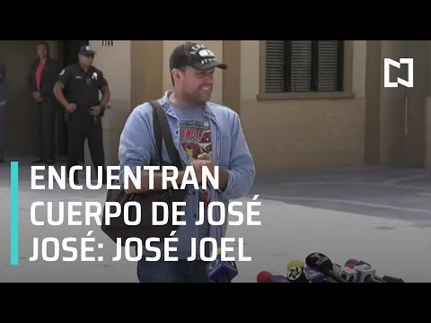 Encuentran cuerpo de José José, sí está en Miami: José Joel