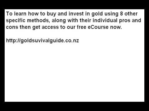 Buy Gold and Silver Bullion Bars and Coins in Auckland, New Zealand