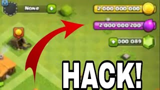 Clash of clans hack version game play || If you download hack version of coc link in discreption ||
